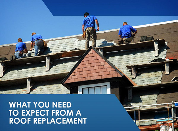 What you need to expect from a roof replacement