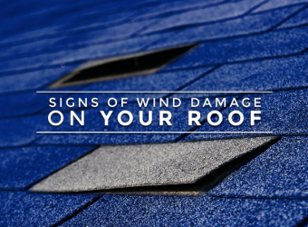 Signs of Wind Damage on Your Roof