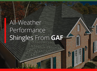 All-Weather Performance Shingles From GAF